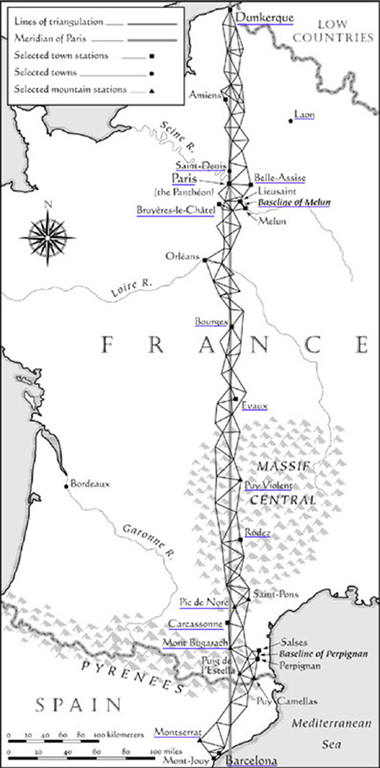The French History of Earth Measurement
