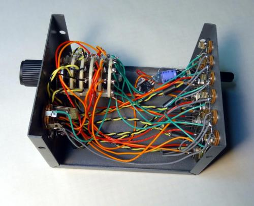 small resolution of the following photos show interior wiring which follows the schematic