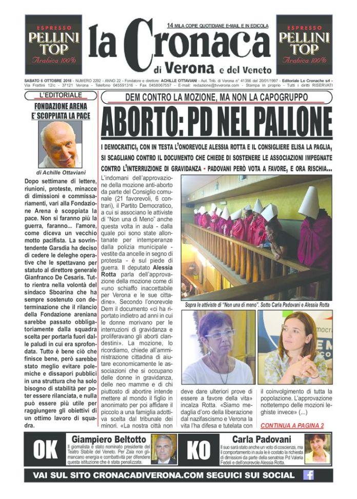 thumbnail of cronaca di verona 6 10 18