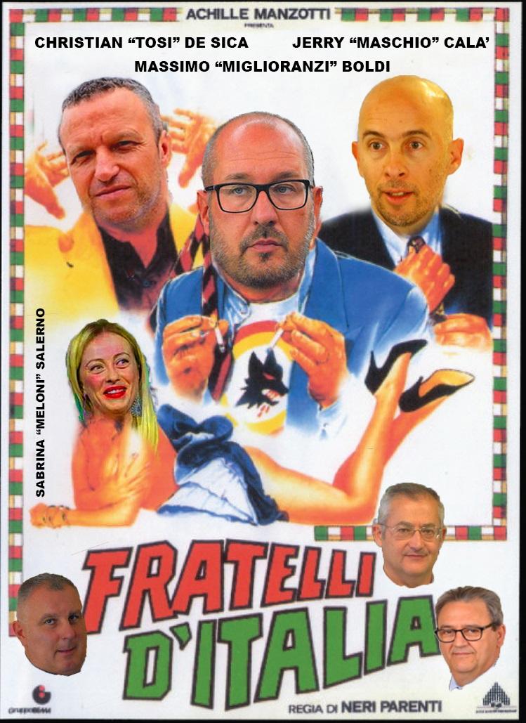 Sono tutti fratelli d'Italia!