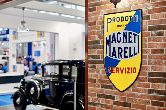 Il Museo Nicolis con Magneti Marelli ad Autopromotec.