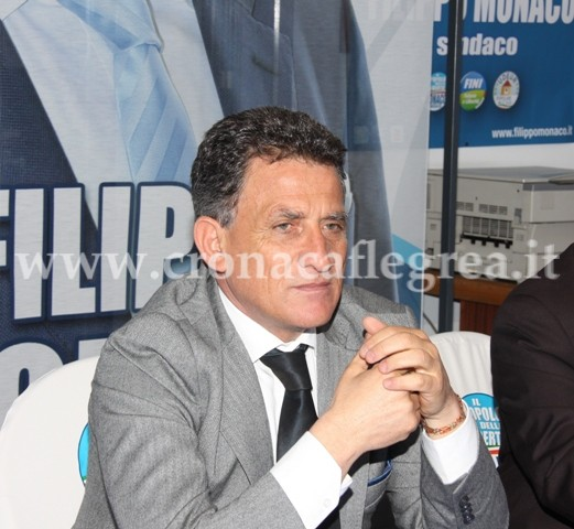 Il consigliere comunale Filippo Monaco