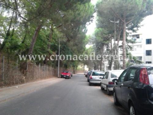 """La zona dei """"600 alloggi"""" nel quartiere di Monterusciello"""