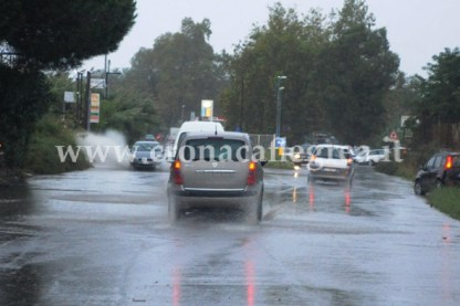Piogge costanti sui Campi Flegrei