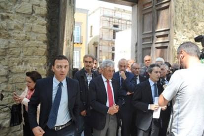 L'ex Governatore della Campania Antonio Bassolino