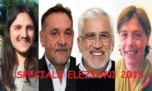 I 4 candidati a Sindaco di Bacoli
