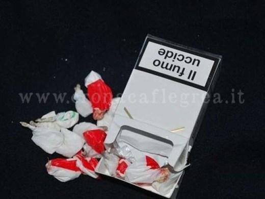 Cocaina nel pacchetto di sigarette-2