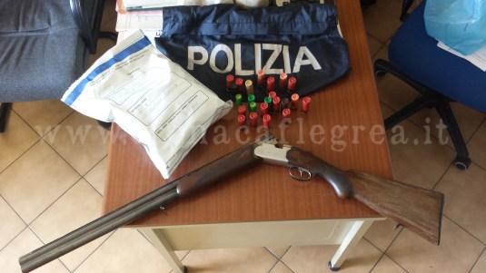 Armi e droga sono state rinvenute dalla Polizia