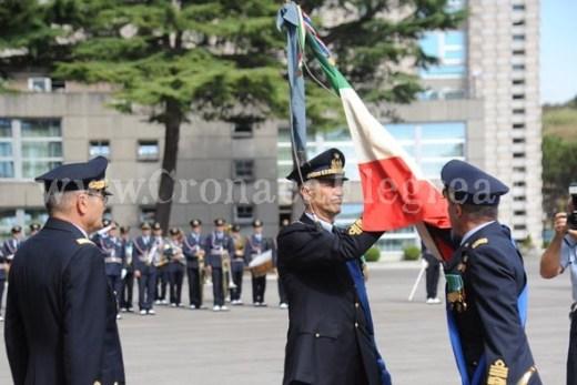 La consegna simbolica della bandiera