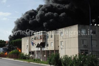 Incendio Monterusciello (4)