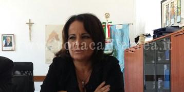 Il sindaco Rosa Capuozzo