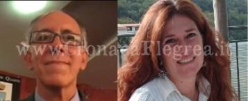 Da sinistra Raffaele D'Alise e Stefania Ganino