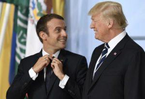 A Parigi la festa del 14 luglio: Macron e Trump, la strana coppia