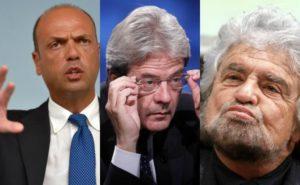 Alfano non ha il quid, Gentiloni non ha i... anche il Belgio ci manda vaffanGrillo...