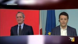 Mentana si accoda a Civati e Letta contro Renzi sui profughi ma finisce per darli ragione