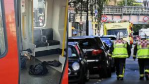 Terrorismo home a Londra: un secchio di plastica, una palla di fuoco