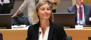 Mogherini candidata al Premio Nobel per la Pace? Non è un titolo del Male, ma...