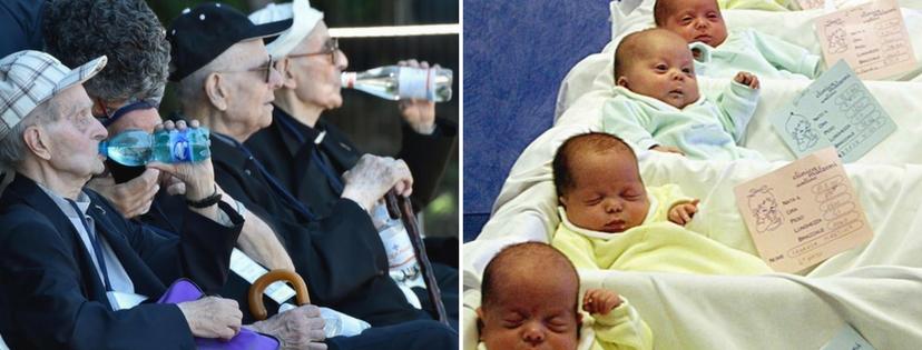 Istat, Italia il paese dei single e degli anziani: nascite in calo e aumento famiglie composte da una sola persona