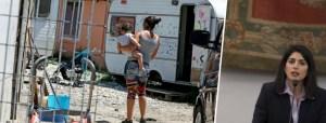 Rom: 2018 anno di sgomberi? Bonus Raggi, 10mila euro ai nomadi stranieri per lasciare Roma