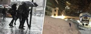 Maltempo Epifania, le vacanze si chiudono con pioggia e neve