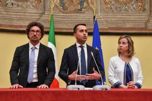 """Pd-M5S, Di Maio: """"Chiuso discorso con la Lega: dialogo con il Pd, altrimenti si torna al voto"""""""