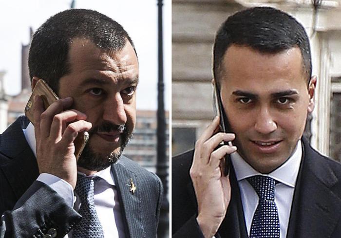"""Salvini: """"Non ostacoliamo soluzioni per emergenze"""". Di Maio: """"Governo Conte o elezioni"""""""