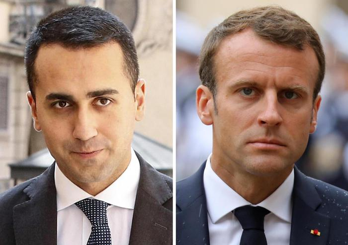 """Italia-Francia, ancora scontro sui migranti. Macron: """"Populisti in Europa come lebbra"""". Di Maio: """"Ipocrita, pensi a Ventimiglia"""""""
