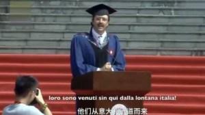 """Carlo Dragonetti, lo studente italiano che ha conquistato la Cina: """"Qui ho scoperto l'acqua calda"""""""