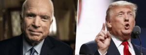 """Usa, """"McCain eroe"""": Trump boccia il comunicato della Casa Bianca. Il presidente non celebra il senatore morto ieri"""