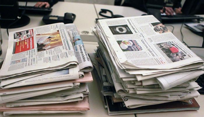 Vendite giornali settembre 2018, effetto politica: il calo si attenua. 2,2 milioni di copie al giorno