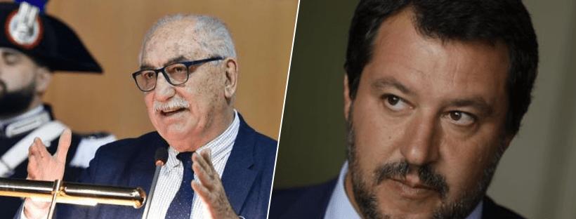 """Mafia nigeriana, procuratore Sparato: """"Tweet di Salvini ha danneggiato indagini"""". Il ministro: """"Faccia il pensionato"""""""