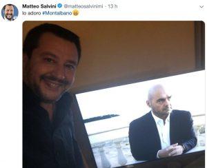 """Montalbano, migranti nella fiction e Salvini pubblica post: """"Lo adoro"""". Scatta la polemica sui social"""