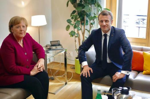 Braccio di ferro Merkel-Macron per il dopo Juncker alla Commissione europea