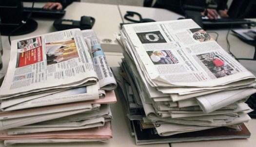 Vendite quotidiani: 3 giornali e 11 direttori, 20 anni di decrescita infelice