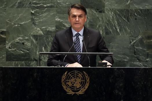 """Clima, Bolsonaro all'Onu: """"L'Amazzonia non è patrimonio dell'umanità"""""""