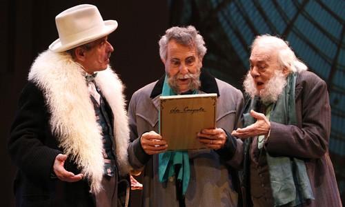 In scena Viviani, Pattavina, Poddighe (Foto Antonio Parrinello)