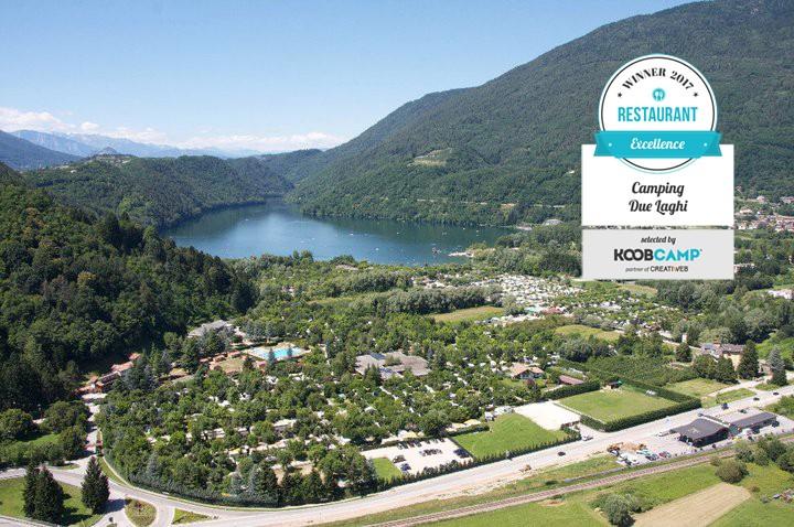 Eccellenza Koobcamp 2017 Miglior Ristorante Il Due Laghi