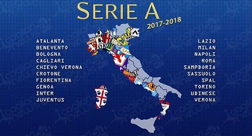 Calendario Oggi Serie A.Presentato Il Calendario Di Calcio Di Serie A Per La