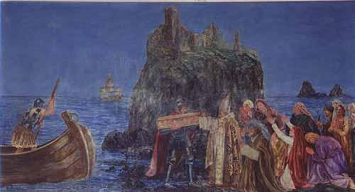 Speciale sant 39 agata d 39 agosto l edicola votiva al rotolo il dipinto di roberto rimini e la - De gasperi santa maria di sala ...