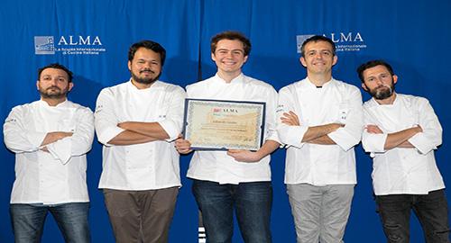 Corso superiore di cucina italiana il catanese edoardo lizzio tra i