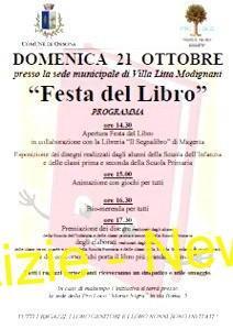 Ossona, 21 ottobre:  Festa del Libro