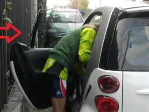 Ossona, brutte notizie per una maratoneta: furto in auto mentre corre