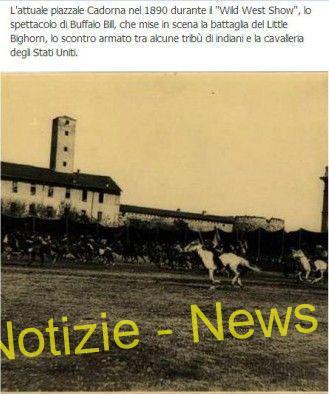 piazzacadorna-e1423959034849 Facebook, la Milano sparita, toro seduto e Buffalo Bill Magazine Turismo