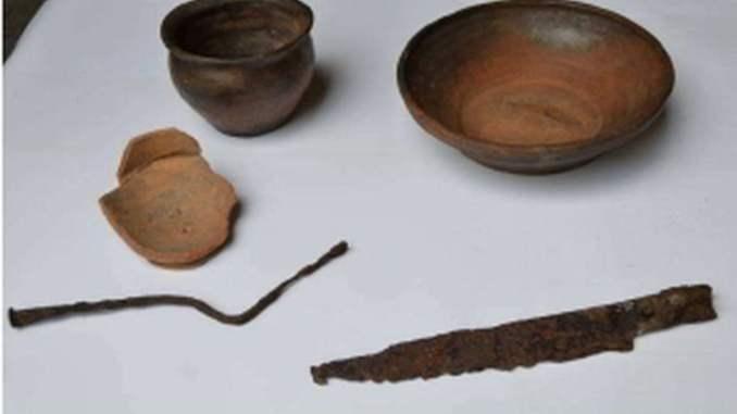Reperti archeologici celtici a Ossona