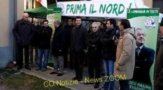 Cuggiono, inaugurata la nuova sede della Lega Nord