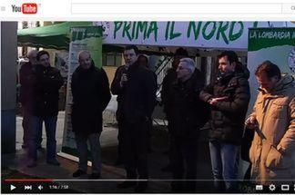 salvini-cuggiono1 Matteo Salvini inaugura la nuova sede della Lega Nord Politica Prima Pagina