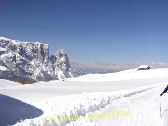 DSC01235 Pasquetta nella la neve all'alpe di Siuse Magazine Turismo