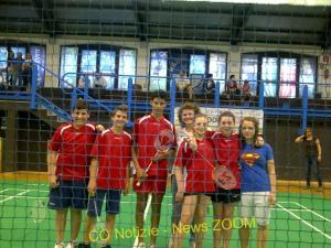 Ossona, la squadra di Badmington delle Medie ai campionati provinciali
