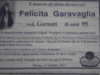 2013-10-29-17.41.46-e1428001294188-324x243 Ossona, la maestra Felicita Garavaglia ci ha lasciati Piazza Litta (Ossona) Prima Pagina