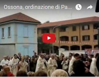 youtube-1 Ossona: é festa per Padre Moreno, ordinato dal cardinale Tettamanzi Eventi Prima Pagina
